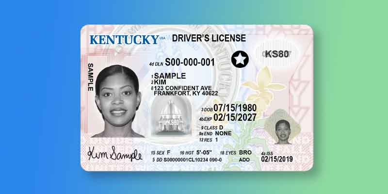 Kentucky's new Driver's Licenses & IDs​